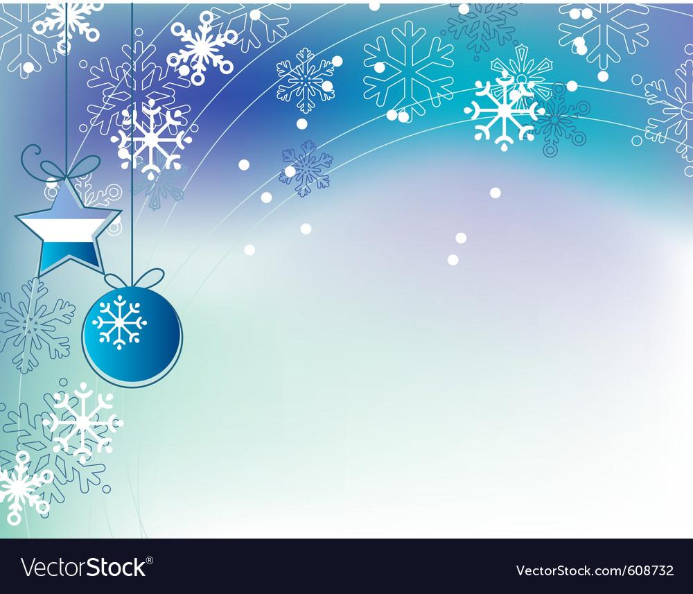 Christmas elegant blue background vector   Price: 1 Credit (USD $1)