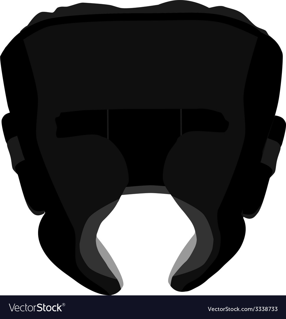 Boximg helmet vector | Price: 1 Credit (USD $1)