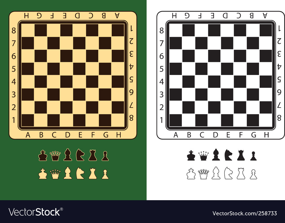 Chessboards vector | Price: 1 Credit (USD $1)