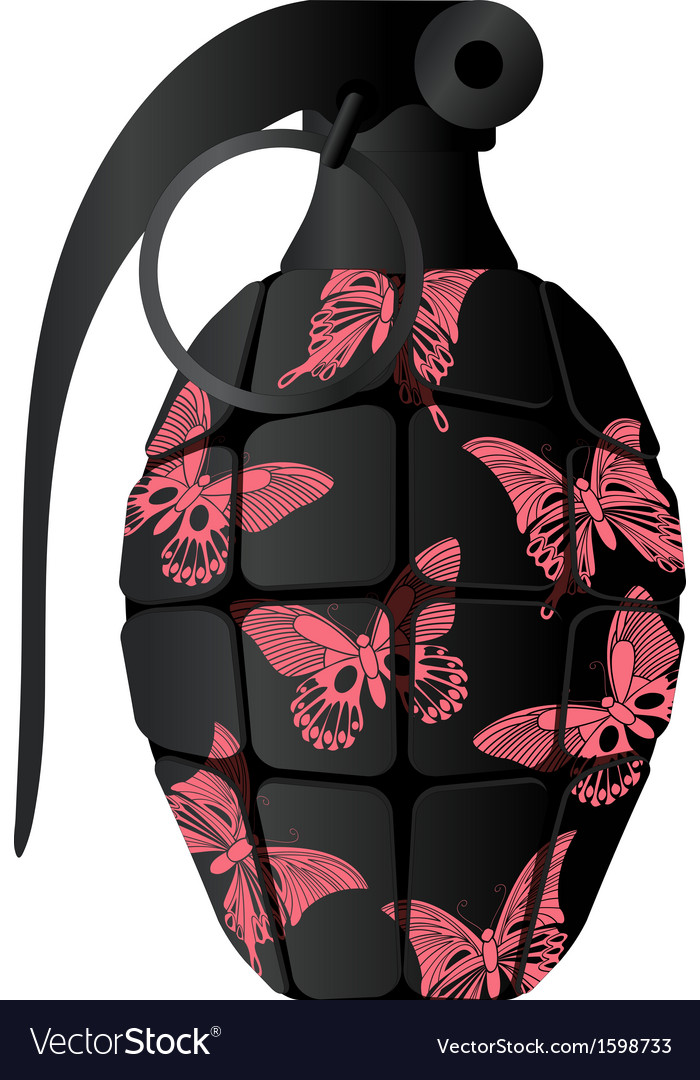 Glamour grenade vector | Price: 1 Credit (USD $1)