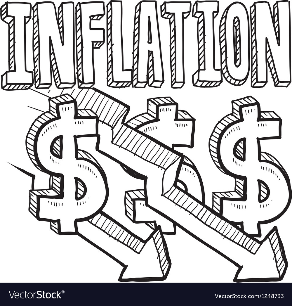 Inflation vector | Price: 1 Credit (USD $1)