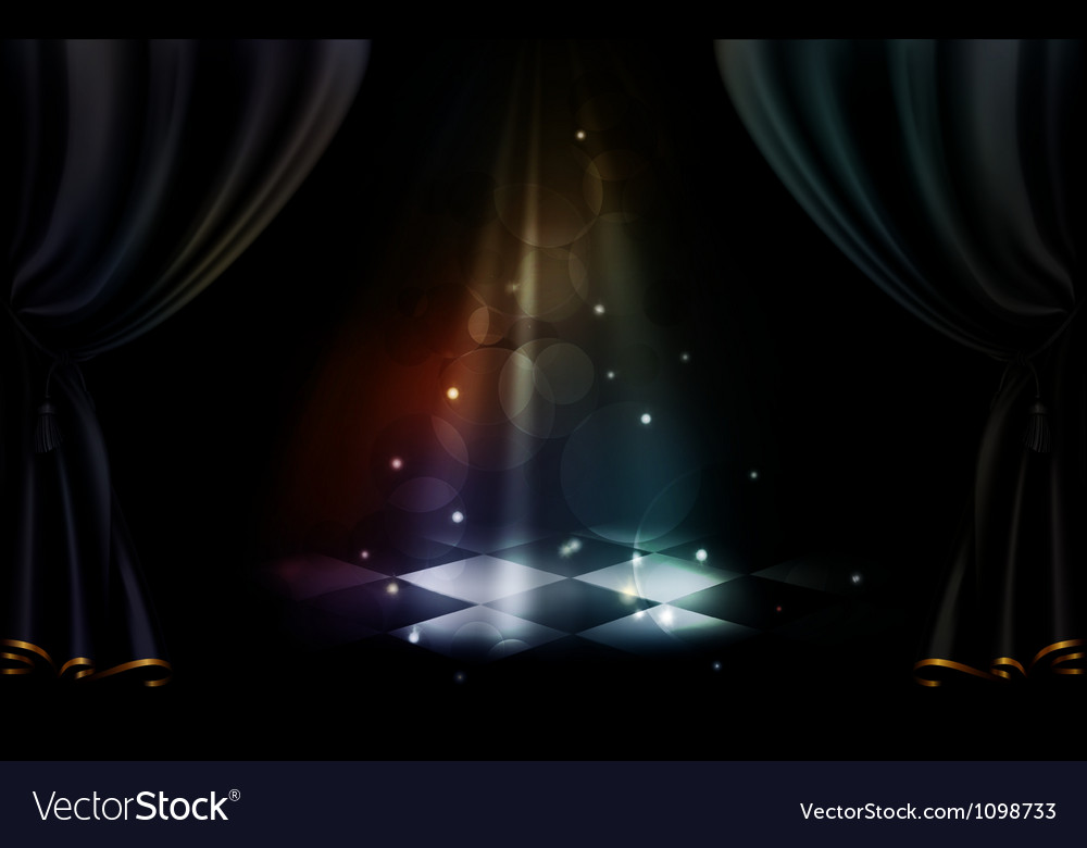 Magic stage vector | Price: 1 Credit (USD $1)