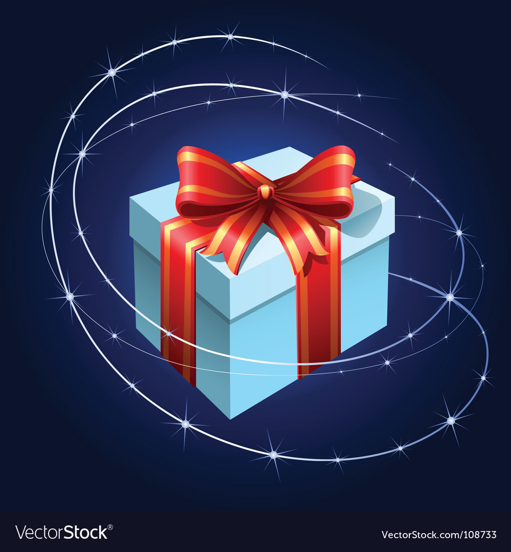 Present with bow vector   Price: 3 Credit (USD $3)