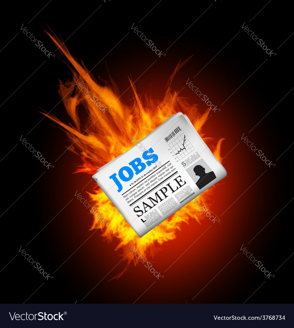 Jobs in newspaper vector   Price: 1 Credit (USD $1)