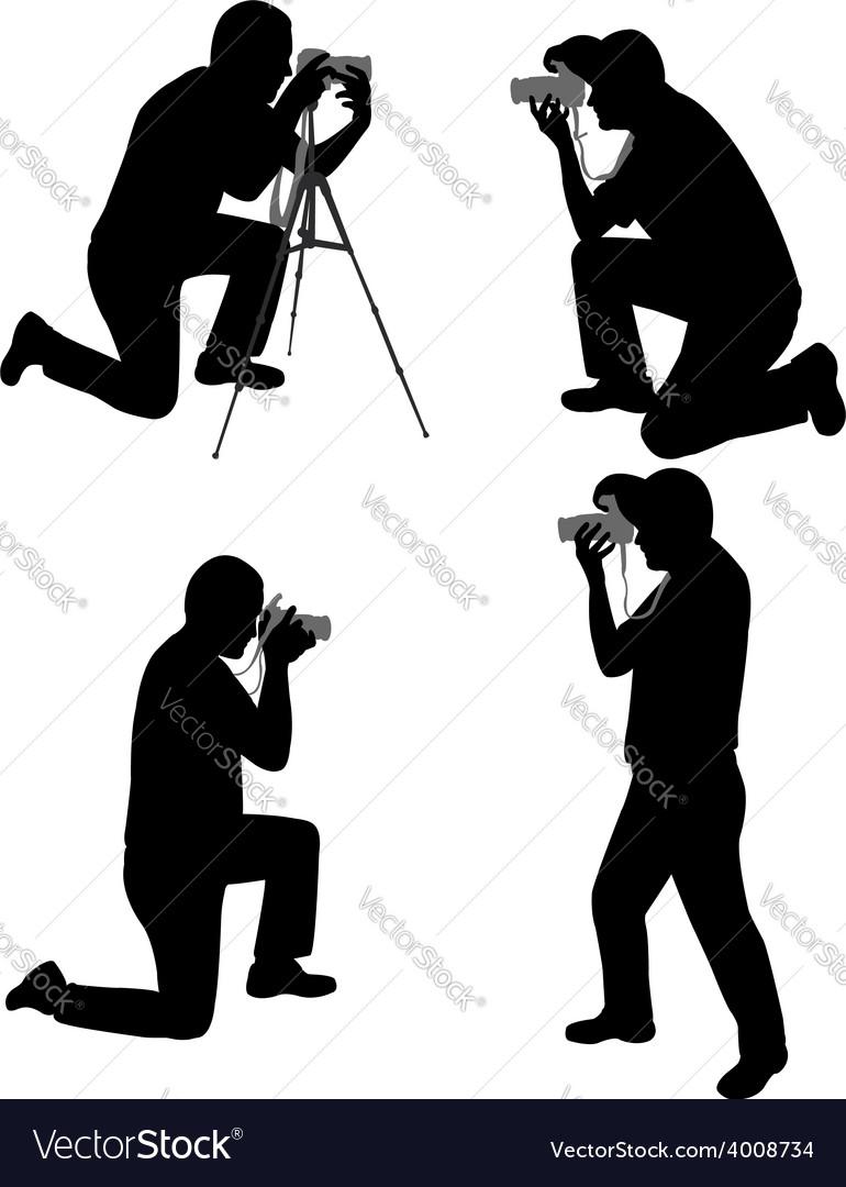 Photographers vector | Price: 1 Credit (USD $1)