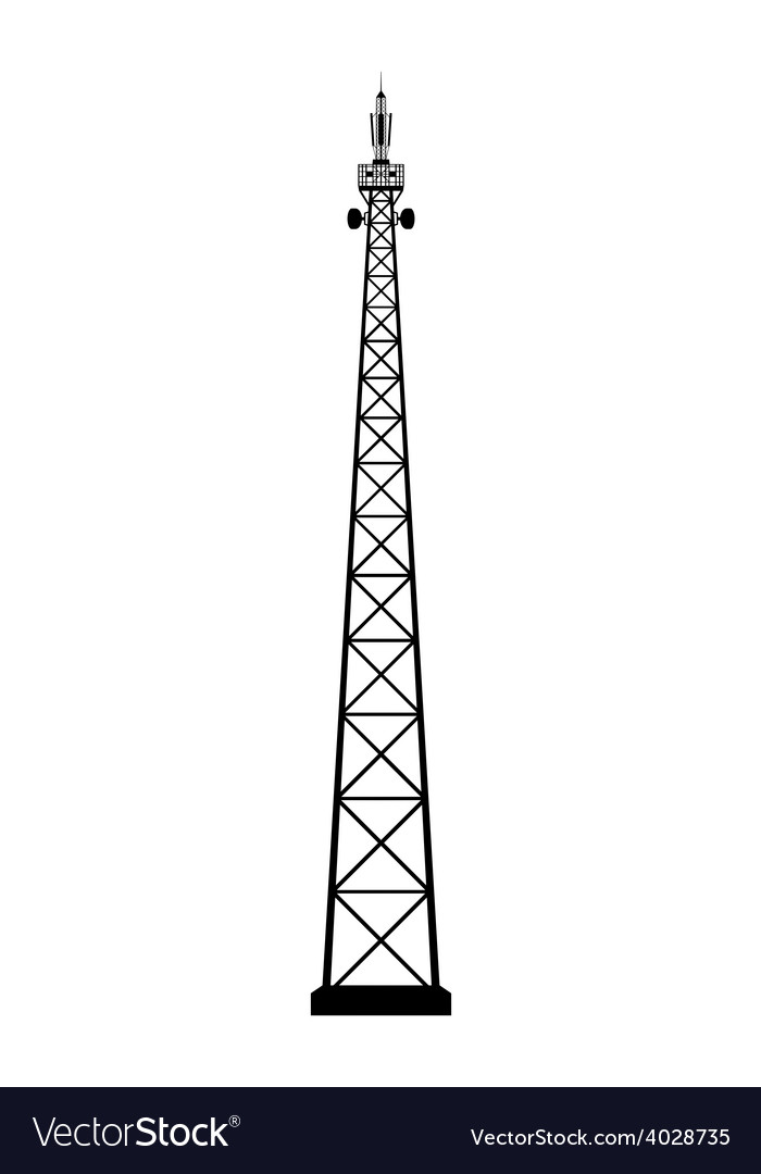 Broadcasting antenna vector | Price: 1 Credit (USD $1)
