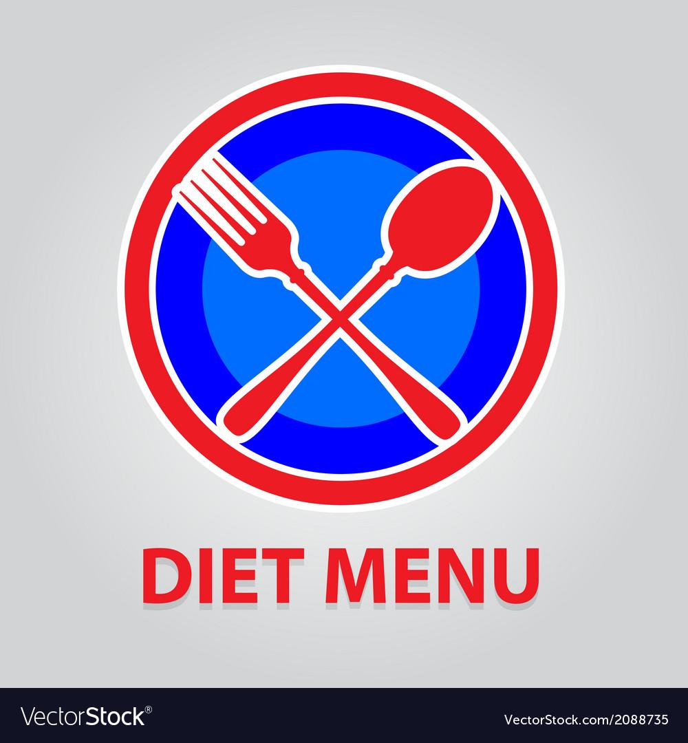 Diet menu vector   Price: 1 Credit (USD $1)