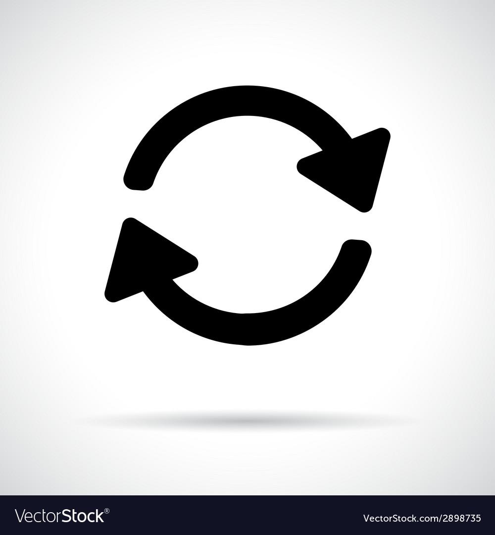 Recycle iconpreloader icon vector   Price: 1 Credit (USD $1)
