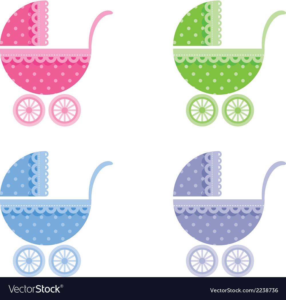 Baby buggy vector | Price: 1 Credit (USD $1)