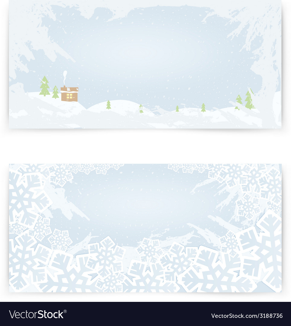 Elegant christmas background with snowflakes vector | Price: 1 Credit (USD $1)