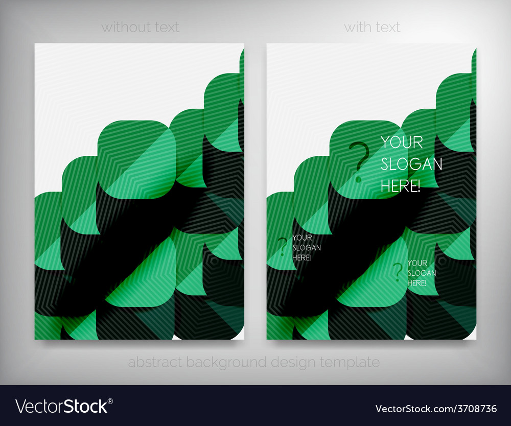 Flyer brochure design templates layouts vector | Price: 1 Credit (USD $1)