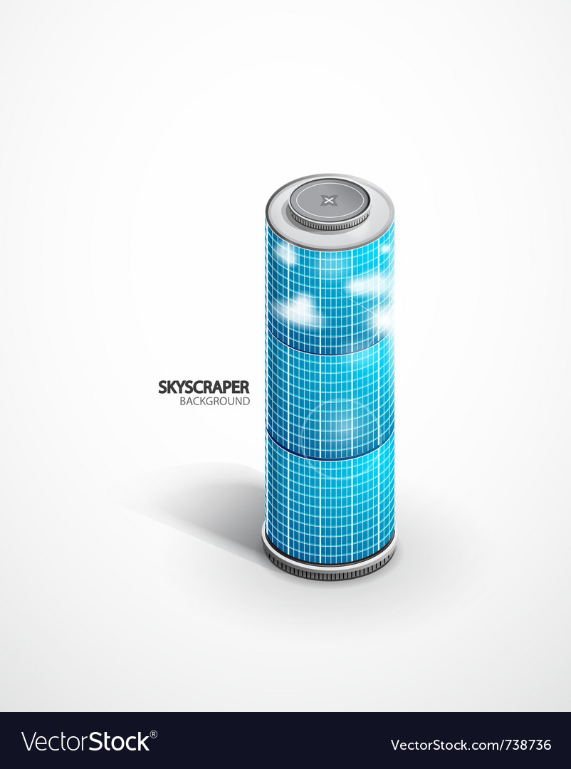 Skyscraper background vector | Price: 1 Credit (USD $1)