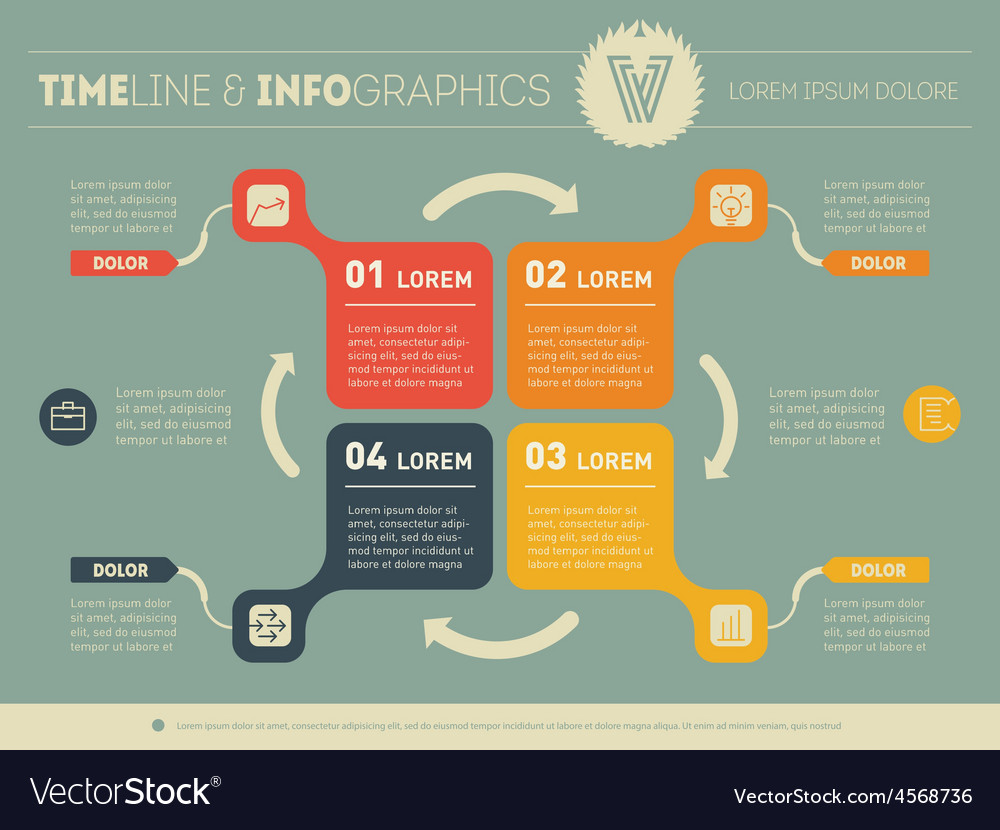 Web template of diagram or presentation business vector | Price: 1 Credit (USD $1)