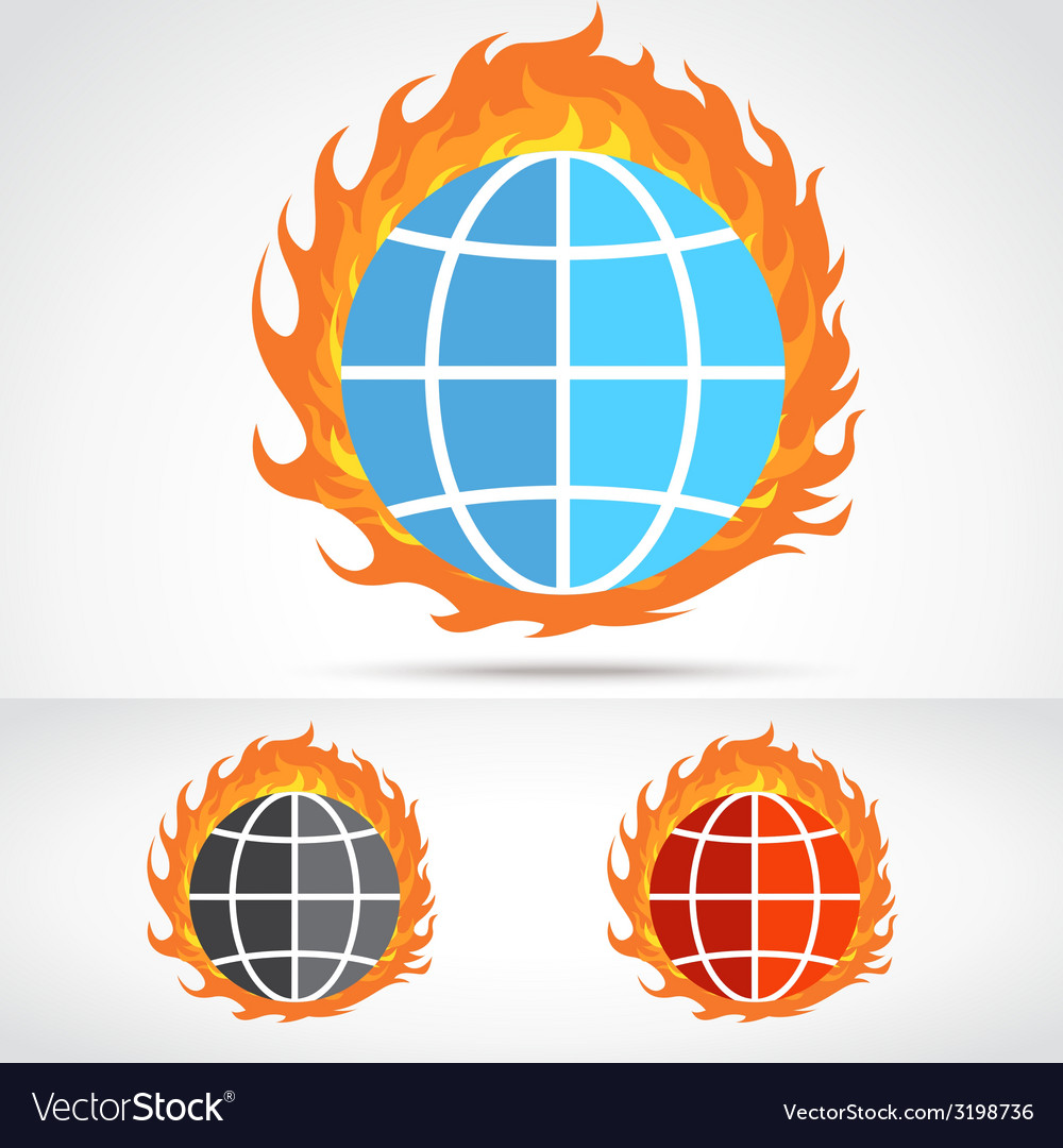 Worldfire vector | Price: 1 Credit (USD $1)
