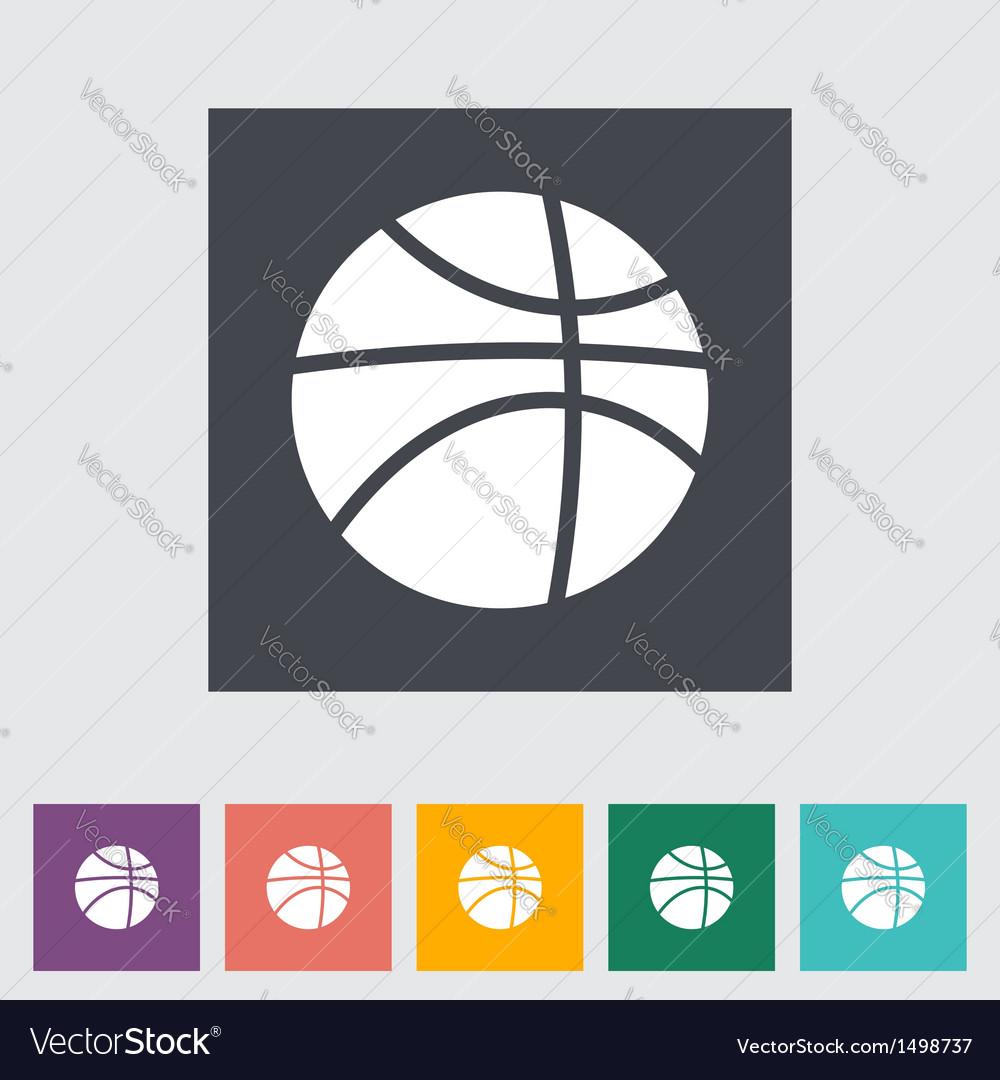 Basketball icon vector | Price: 1 Credit (USD $1)