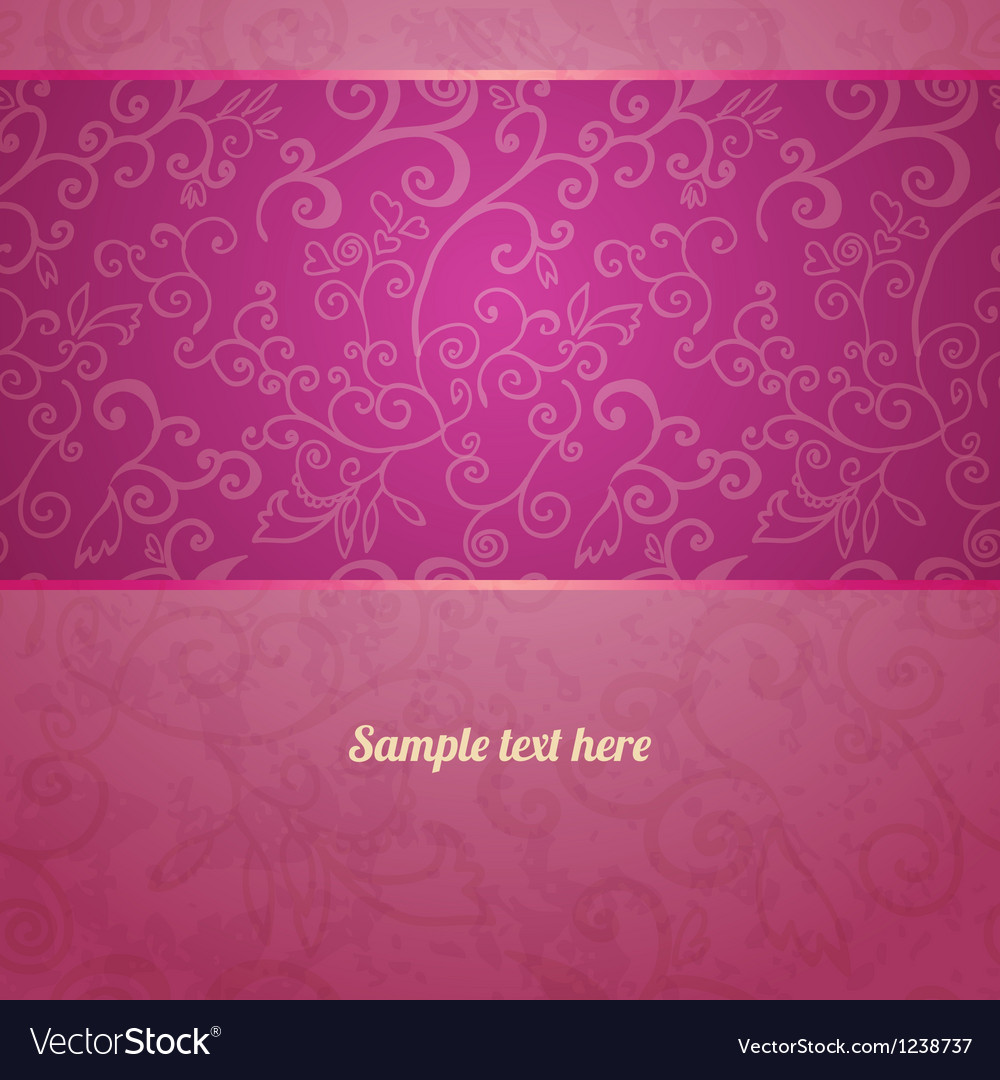 Excellent seamless floral pattern background vector   Price: 1 Credit (USD $1)