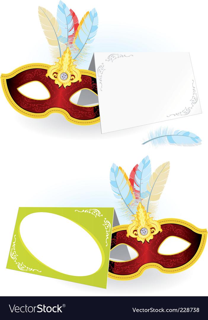 Carnival invitation vector | Price: 3 Credit (USD $3)