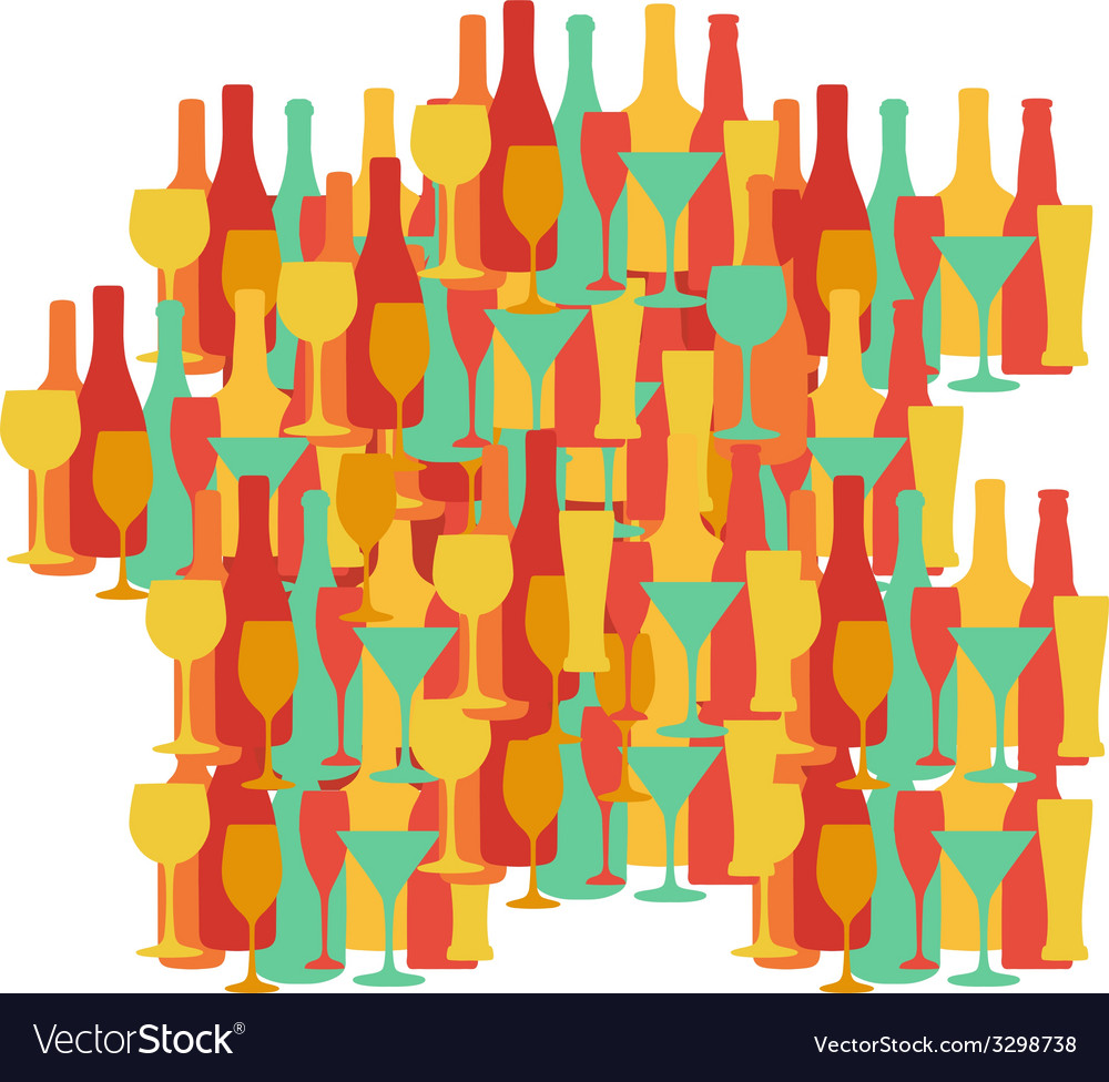 Map of france  provence wine and other drinks vector | Price: 1 Credit (USD $1)