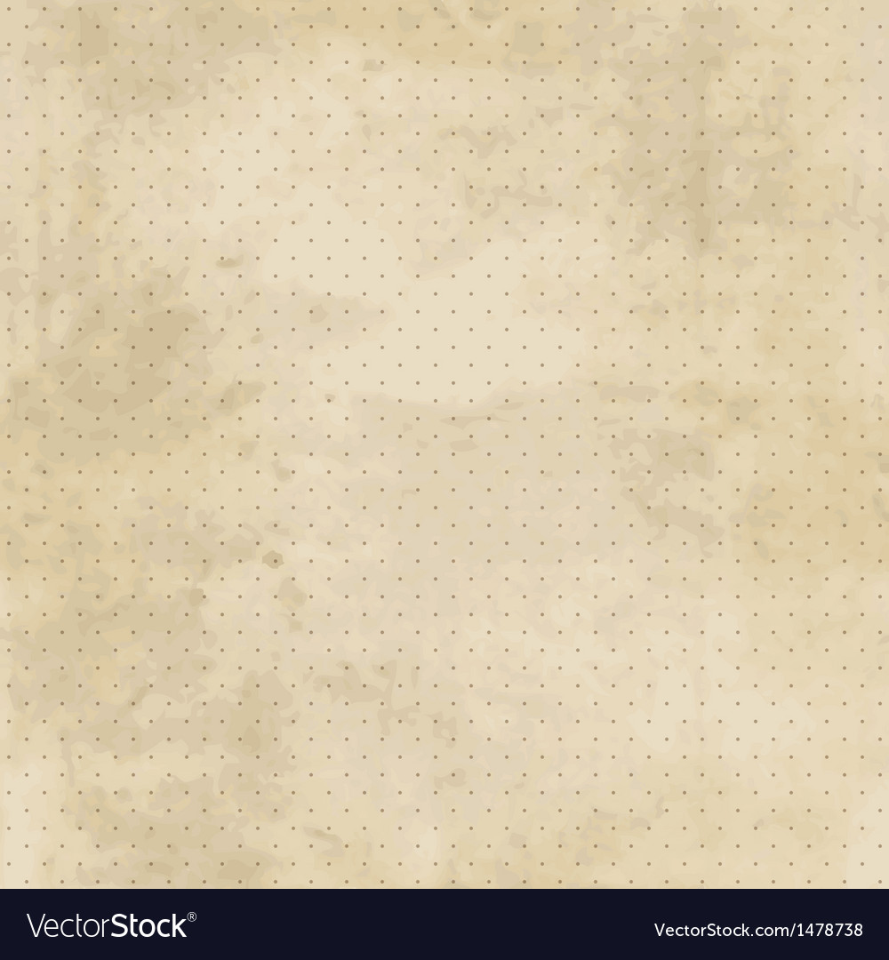 Vintage background with grunge texture and polka vector | Price: 1 Credit (USD $1)
