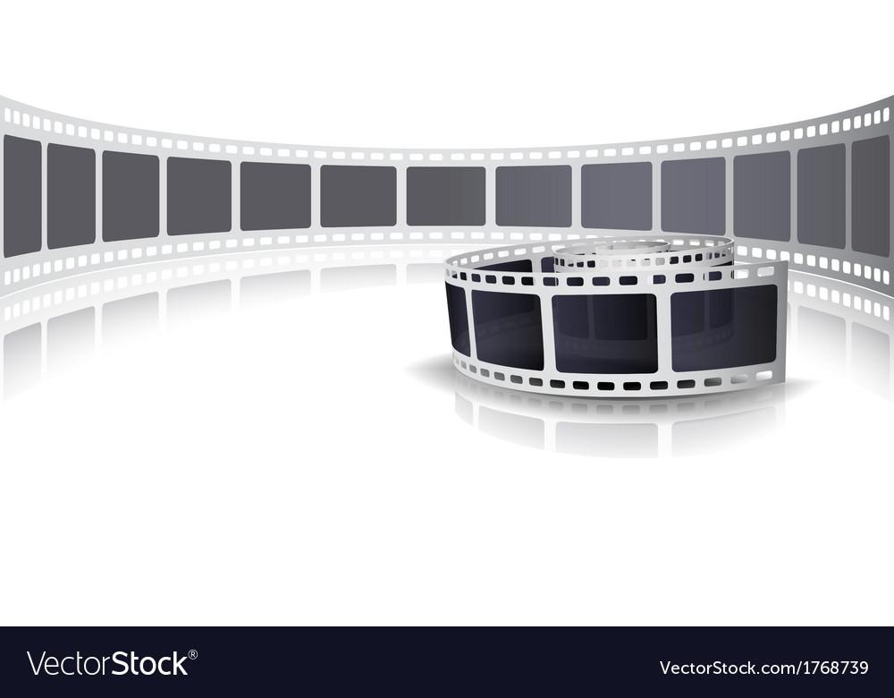 Camera film roll set background vector   Price: 1 Credit (USD $1)