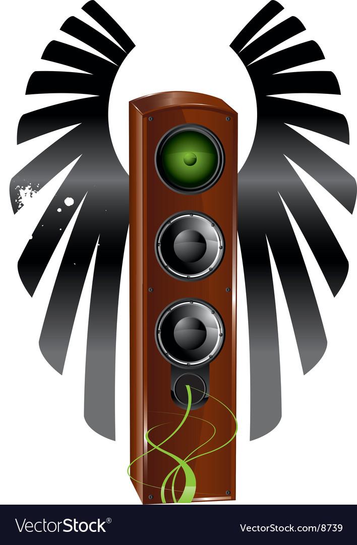 Speaker background vector | Price: 3 Credit (USD $3)