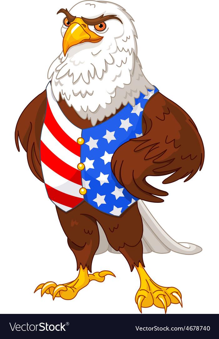 American eagle vector | Price: 3 Credit (USD $3)