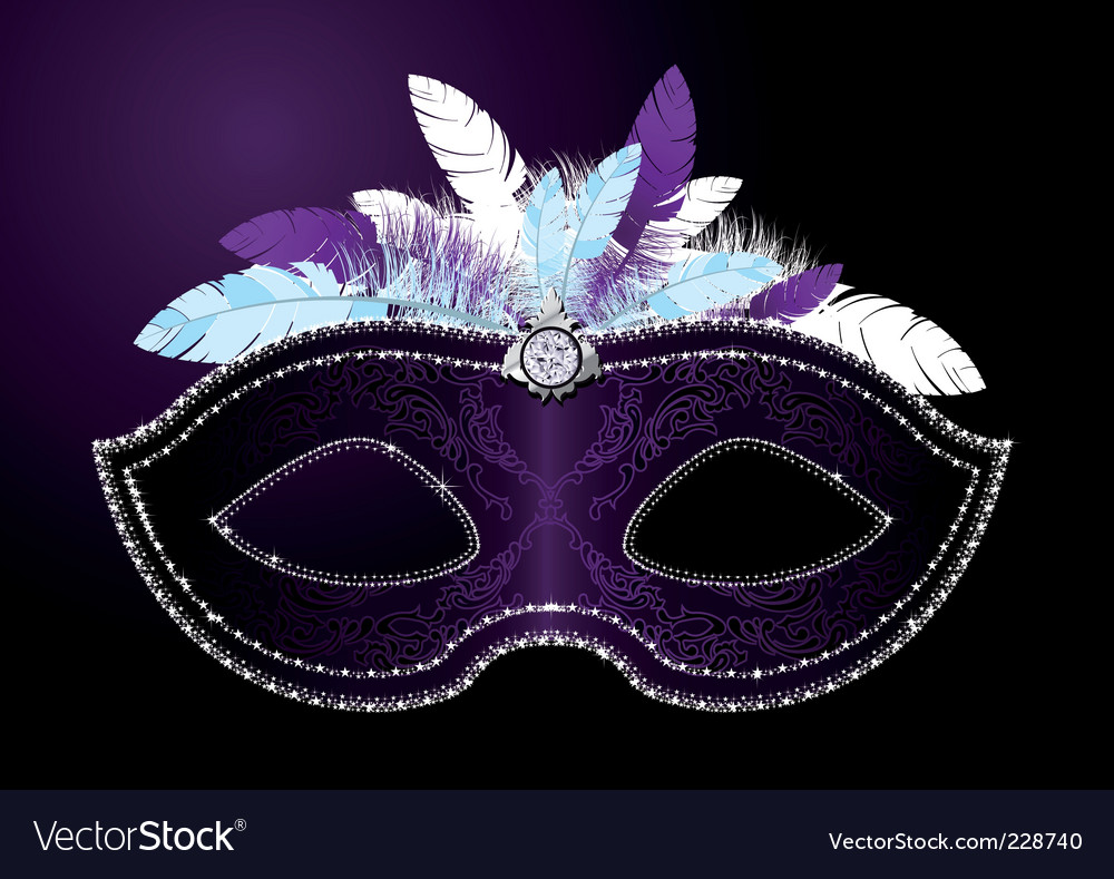 Masquerade mask vector | Price: 3 Credit (USD $3)