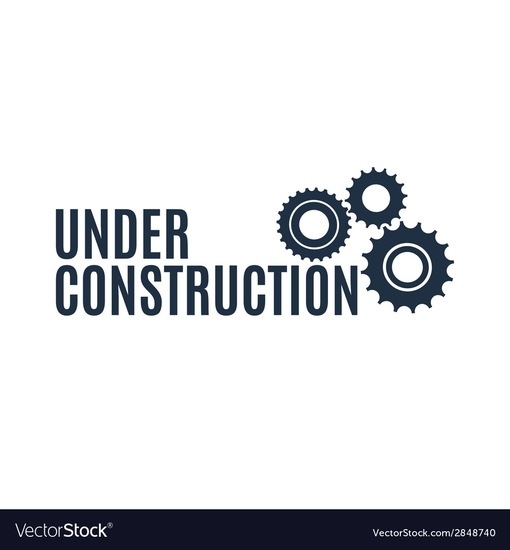 Simple under construction icon vector | Price: 1 Credit (USD $1)