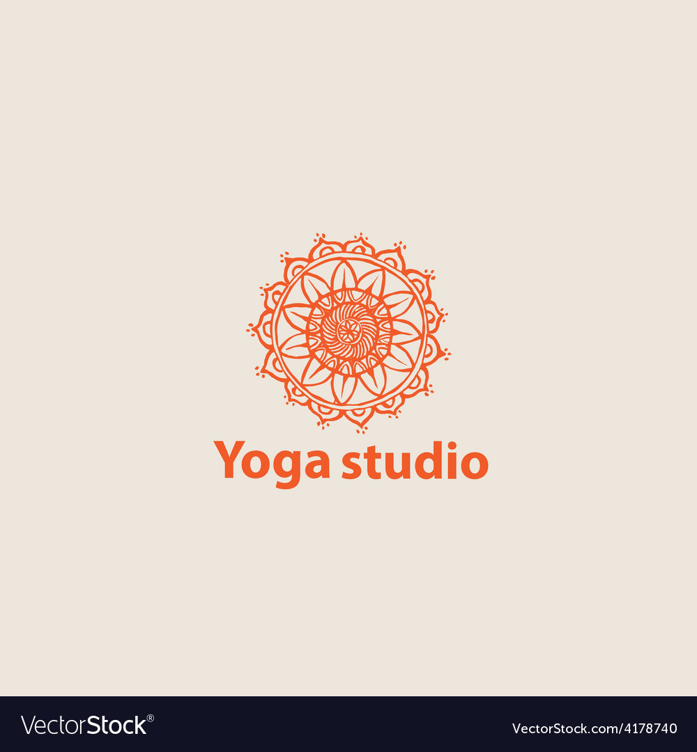 Template logo for yoga studios vector | Price: 1 Credit (USD $1)