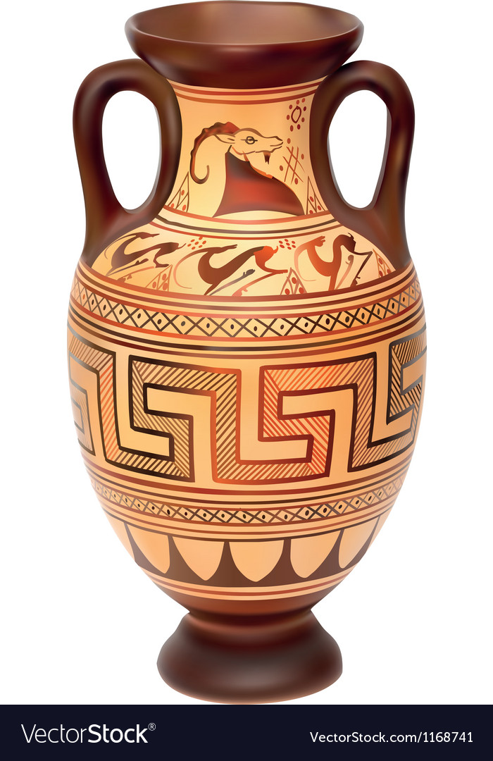 Amphora vector | Price: 3 Credit (USD $3)