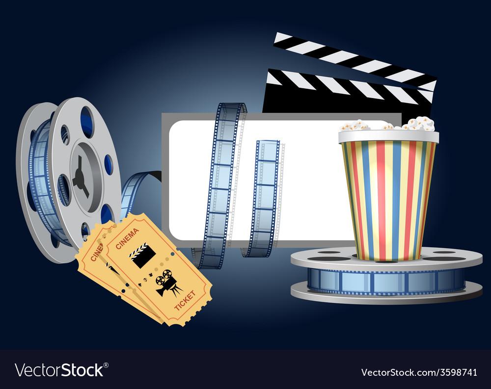 Cinematic set vector | Price: 1 Credit (USD $1)