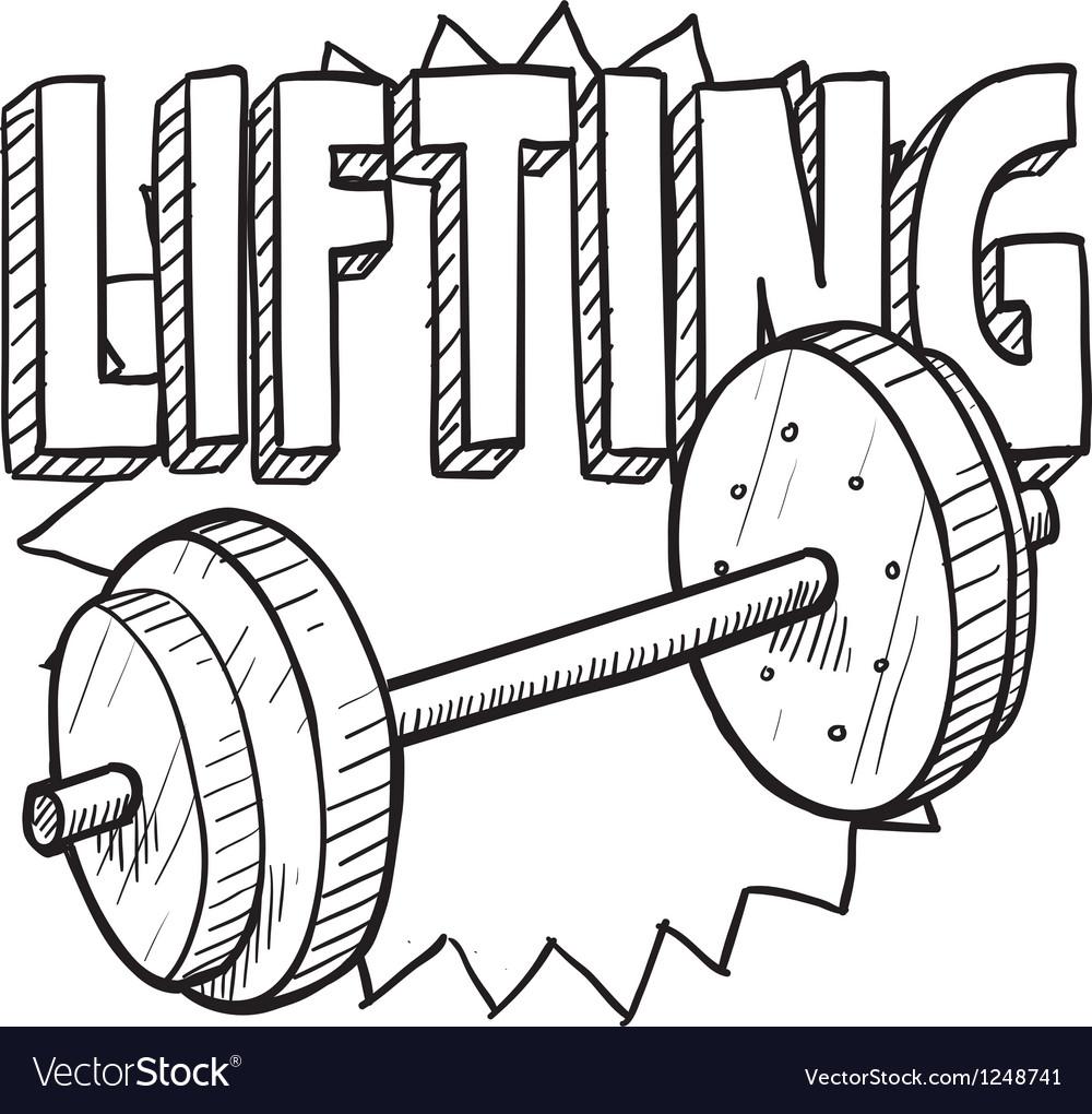 Lifting vector | Price: 1 Credit (USD $1)