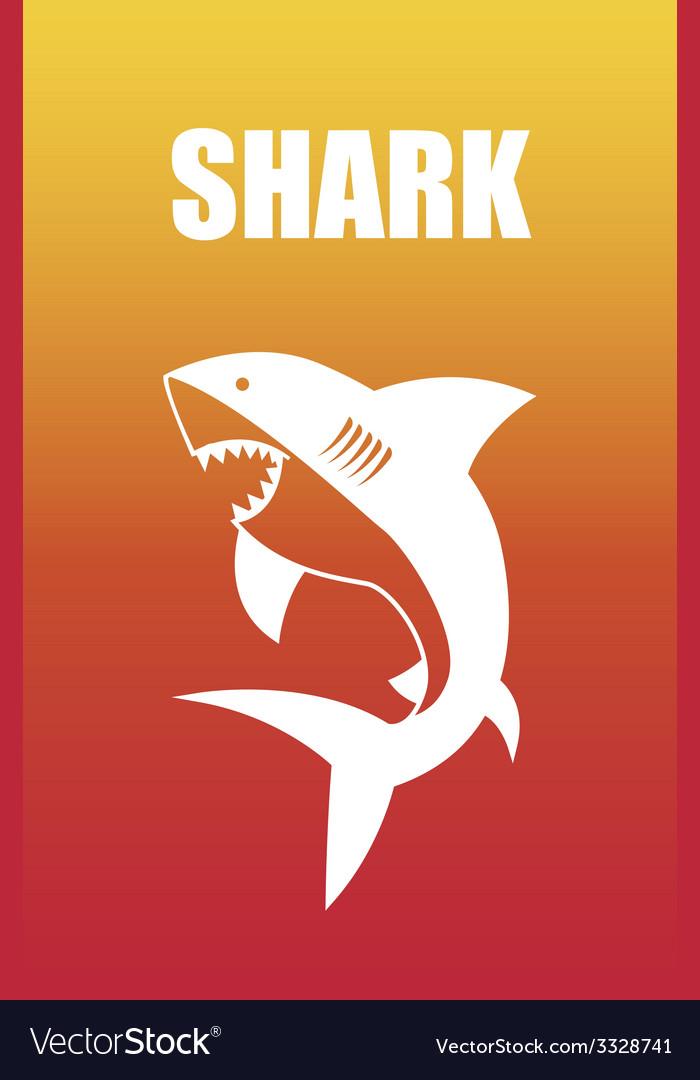 Shark design vector | Price: 1 Credit (USD $1)