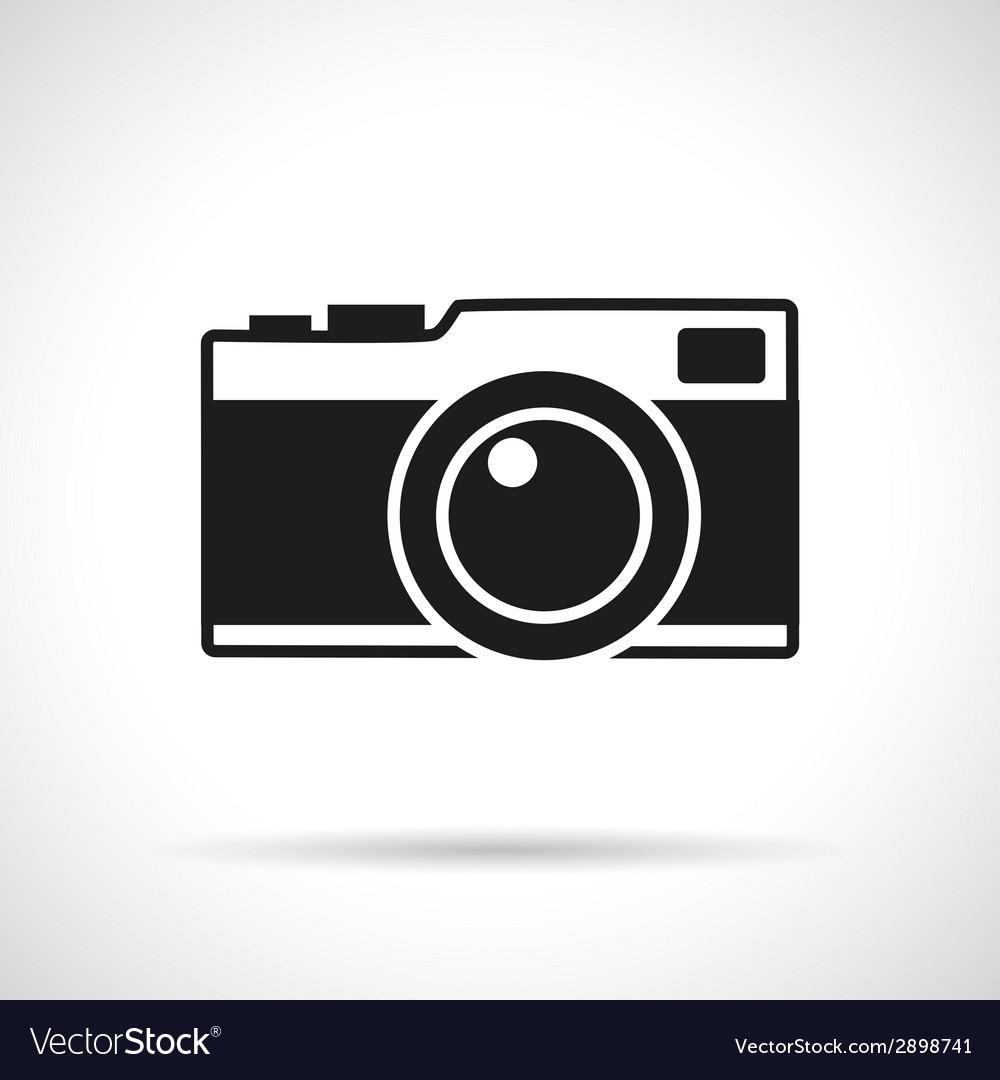 Vintage photo camera vector | Price: 1 Credit (USD $1)
