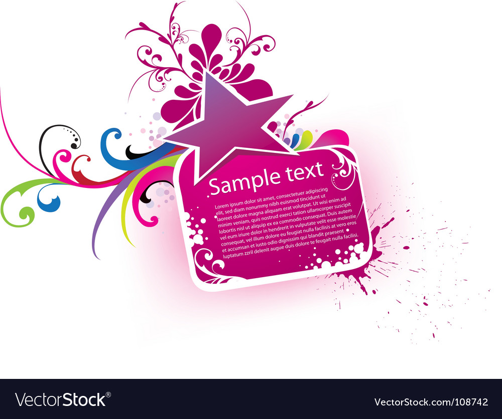 Beautiful banner vector | Price: 1 Credit (USD $1)