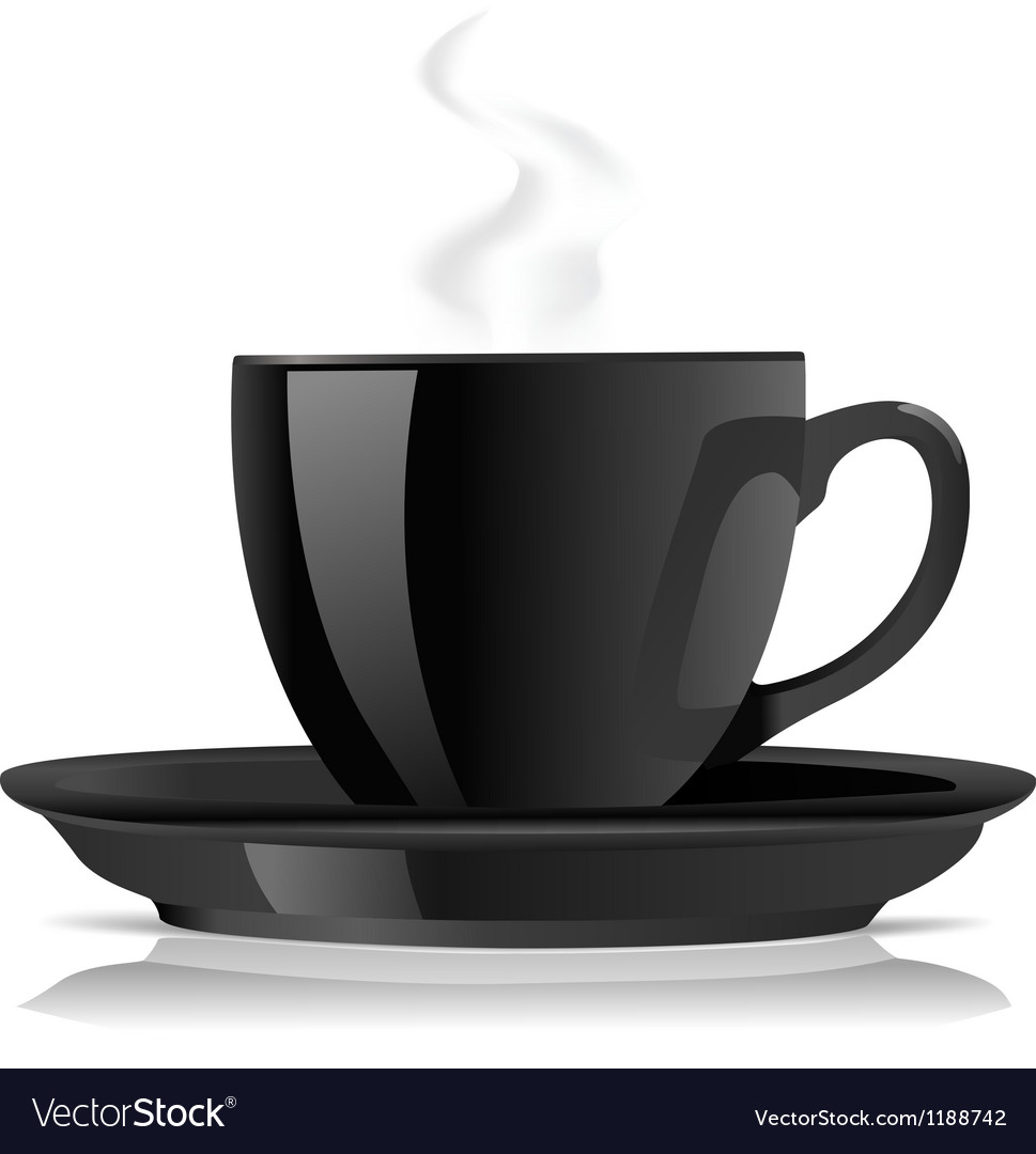 Black cofee cup vector | Price: 3 Credit (USD $3)