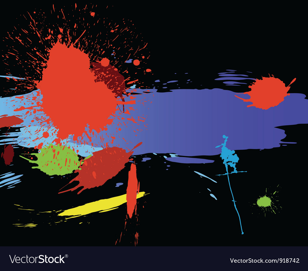 Color grunge background vector | Price: 1 Credit (USD $1)