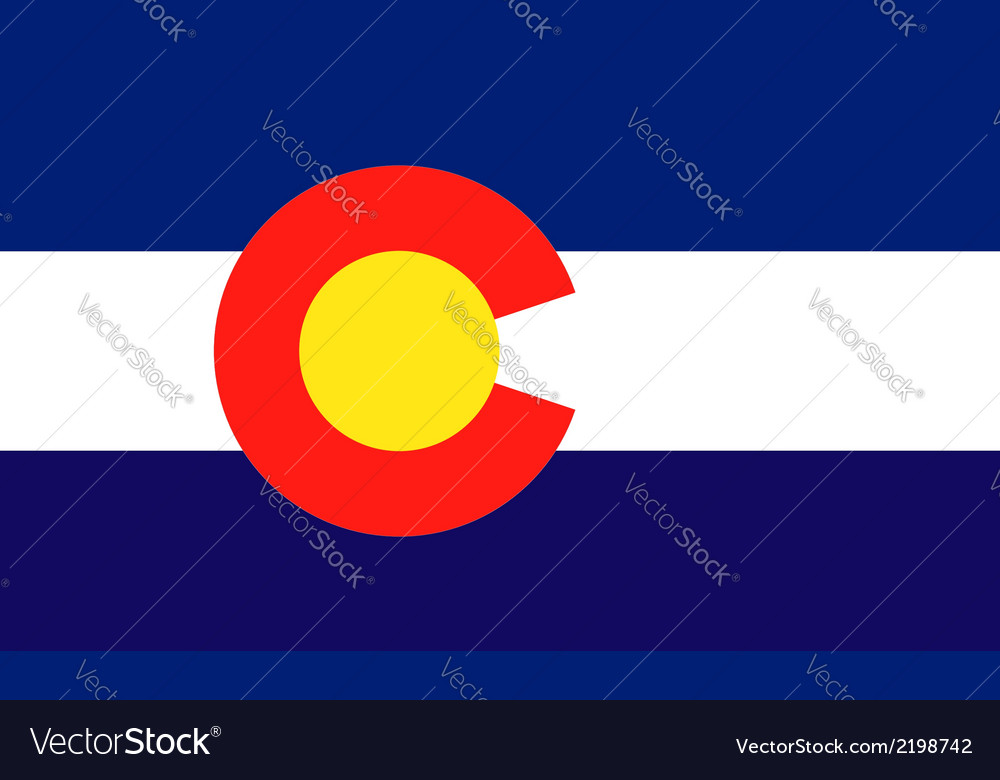 Colorado vector | Price: 1 Credit (USD $1)