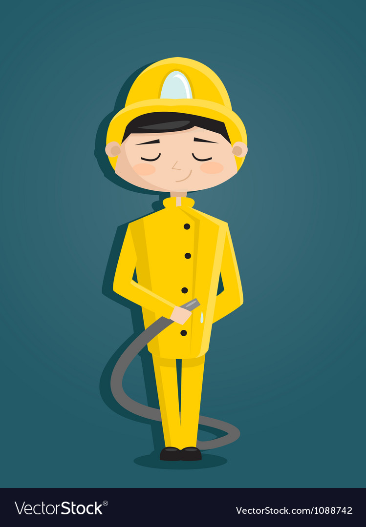 Fireman vector | Price: 3 Credit (USD $3)