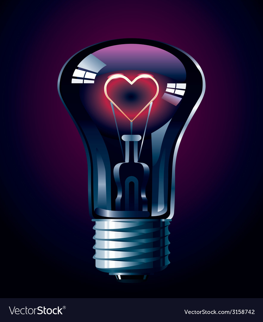 Love glow vector | Price: 1 Credit (USD $1)