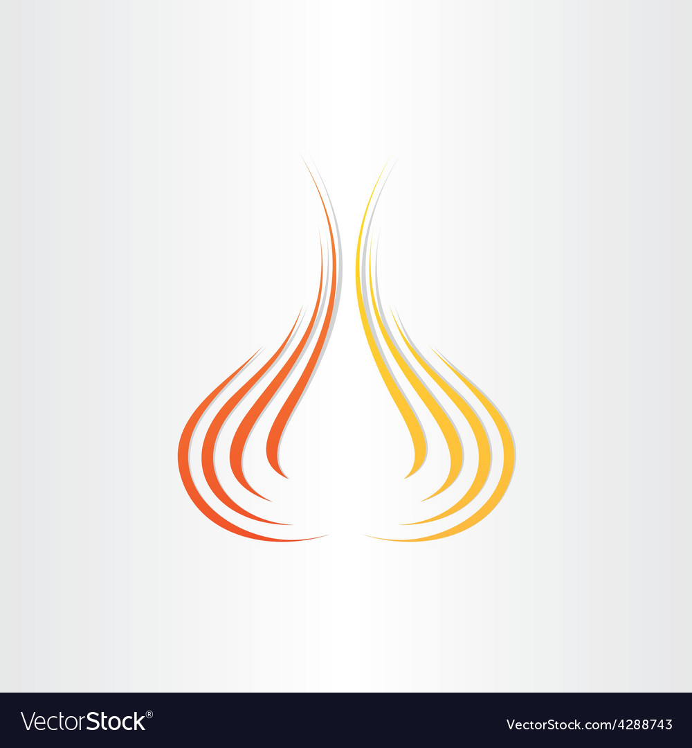 Abstract fire symbol background vector | Price: 1 Credit (USD $1)