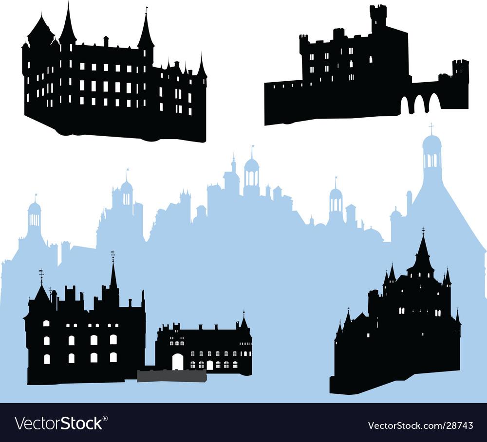Castles vector | Price: 1 Credit (USD $1)