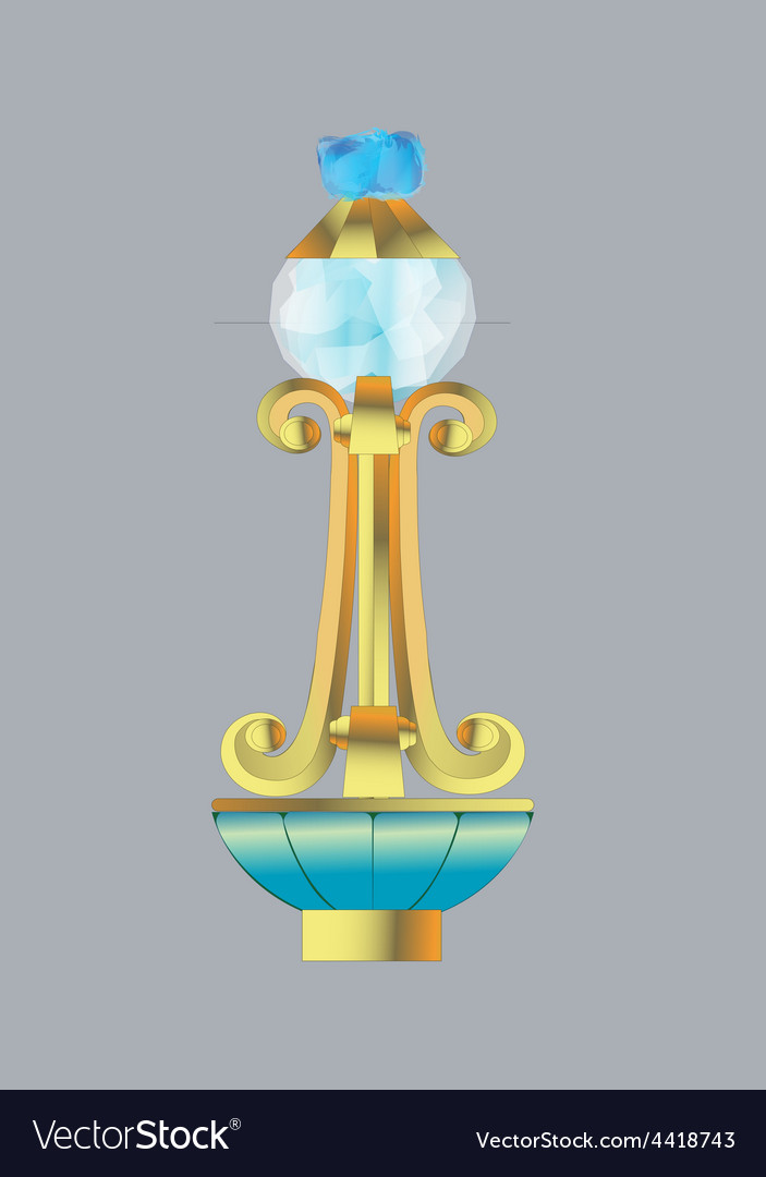 Crystal grip six vector | Price: 1 Credit (USD $1)