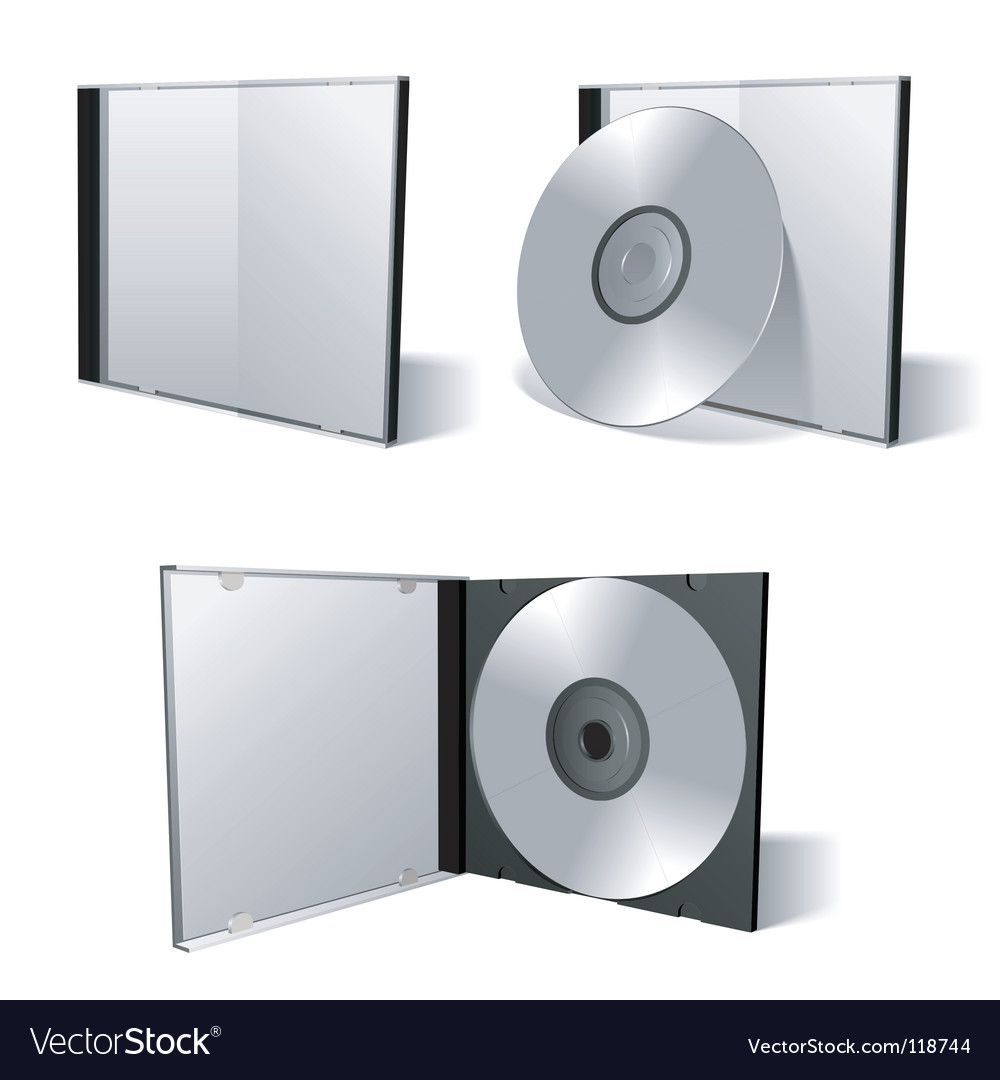 Cd dvd set vector | Price: 1 Credit (USD $1)