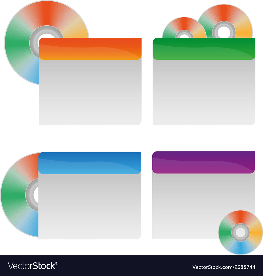 Cd labels vector | Price: 1 Credit (USD $1)