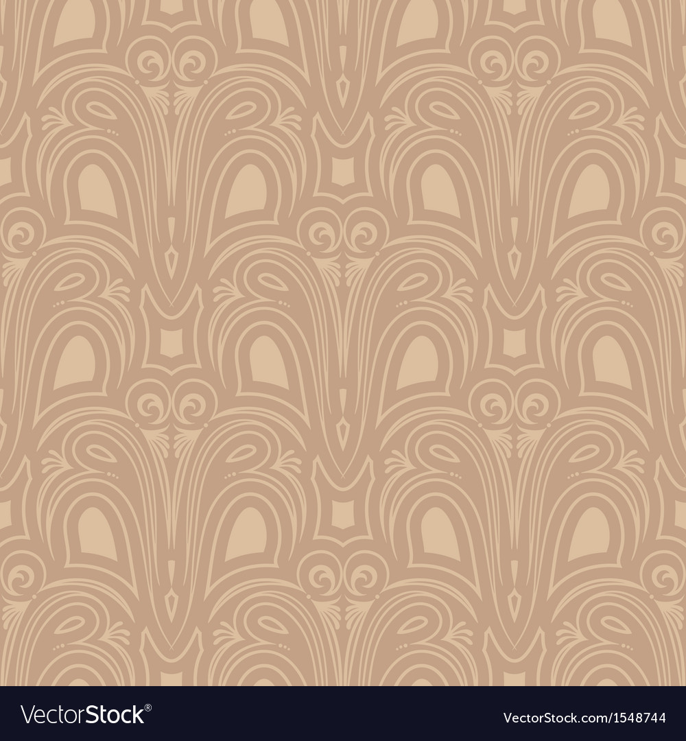 Old style seamless background vector | Price: 1 Credit (USD $1)