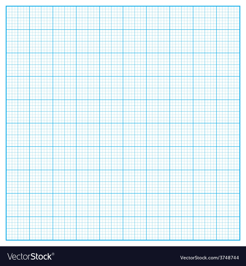 Square inch grid background vector | Price: 1 Credit (USD $1)