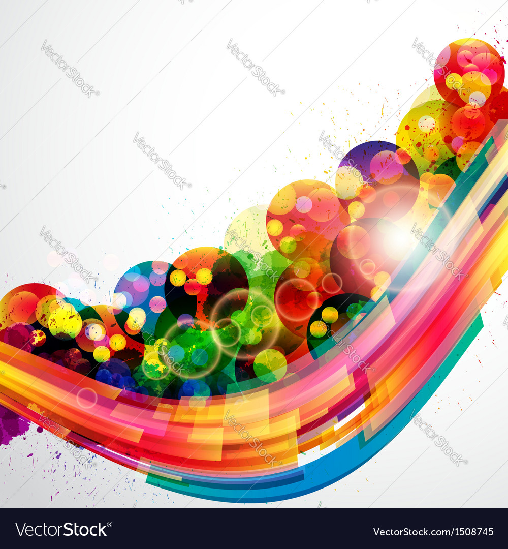 Abstract background forming by watercolor paint vector | Price: 1 Credit (USD $1)