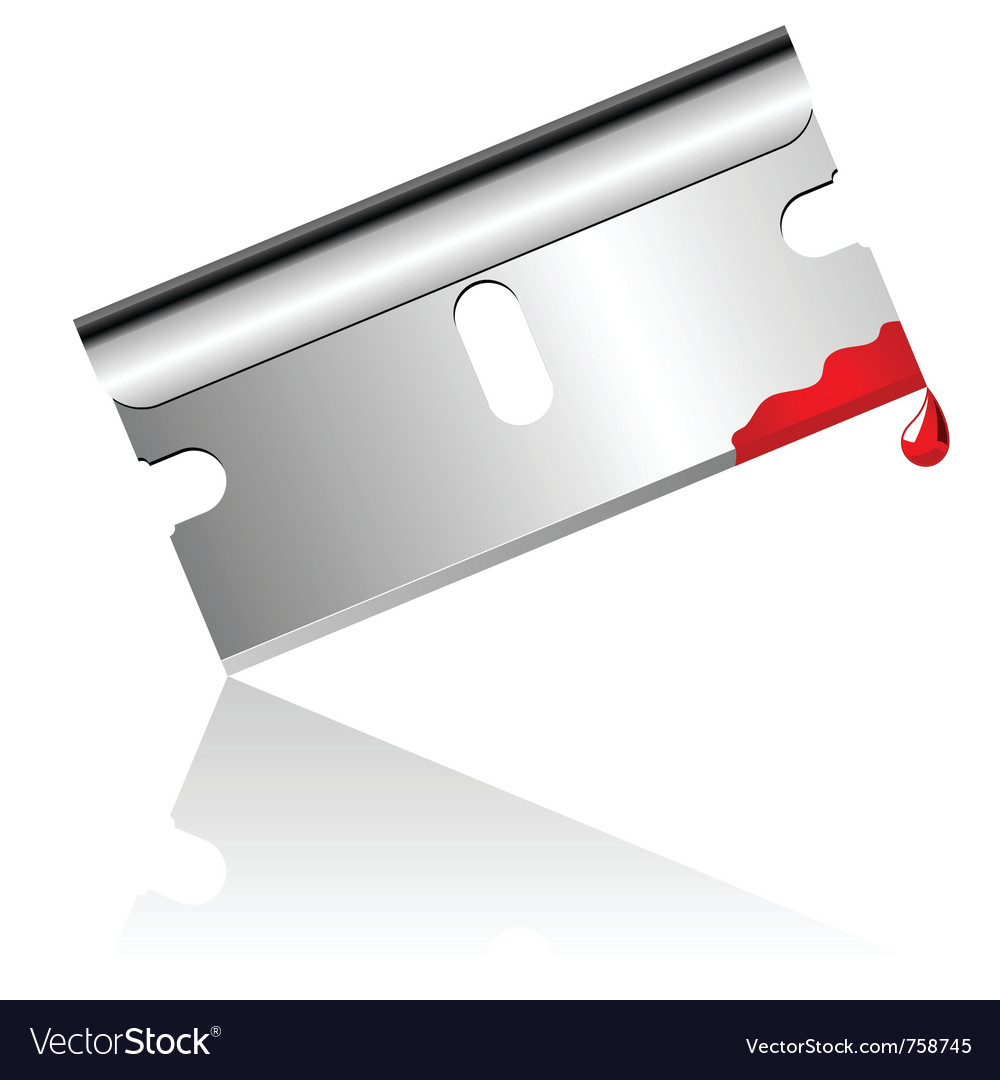 Bloody steel blade vector | Price: 1 Credit (USD $1)