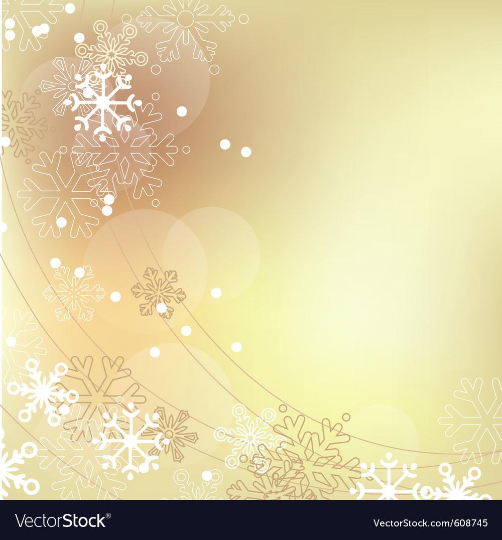 Christmas elegant beige background vector | Price: 1 Credit (USD $1)